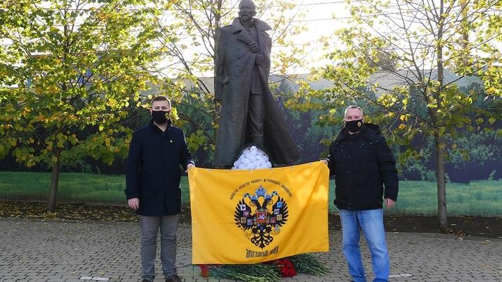 Русский исход: Екатеринодарское отделение Двуглавого орла отдало дань памяти соотечественникам