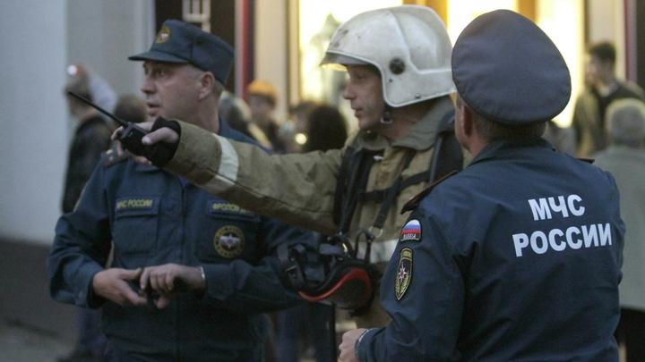 Ночью в Екатеринбурге сгорел дом, попавший под расселение
