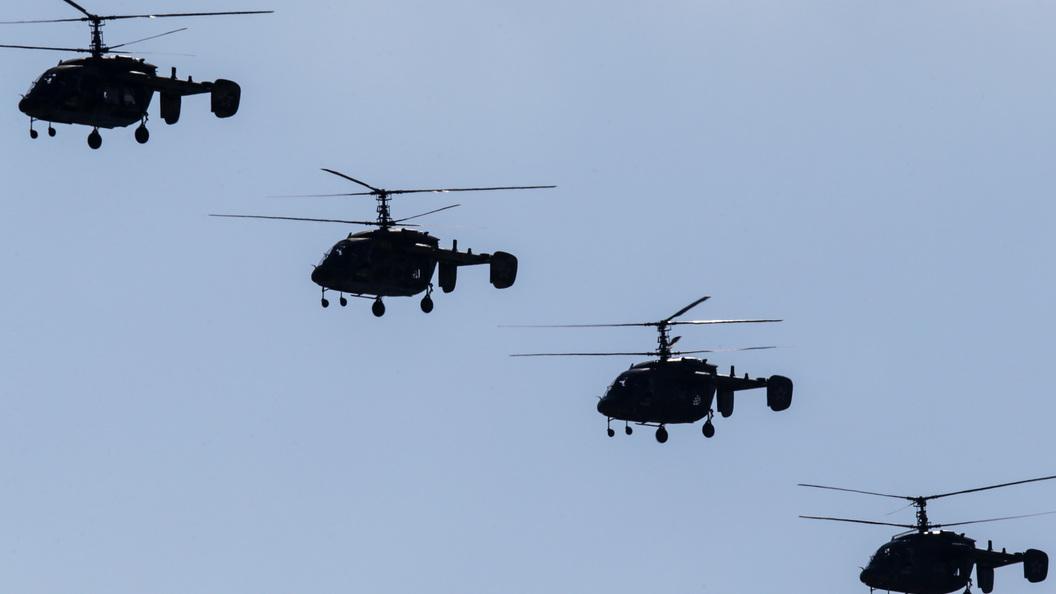 Боевые вертолёты начали охоту за террористами, выпустившими три ракеты по авиабазе Хмеймим
