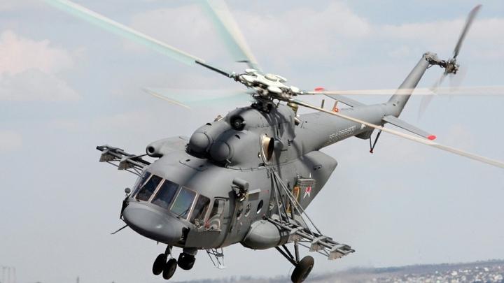 Вертолет с пограничниками за секунды до крушения задел лопастями землю – источник