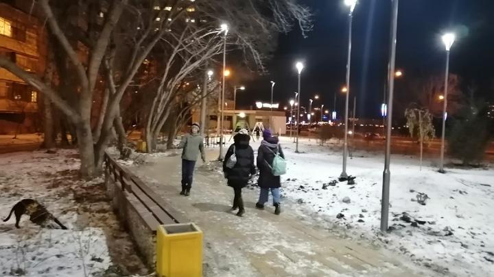 В школах Челябинска власти отменили занятия 24 февраля из-за мороза