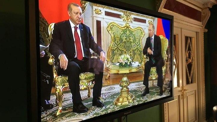 Владимир Путин: Россия и Турция активно налаживают отношения спецслужб