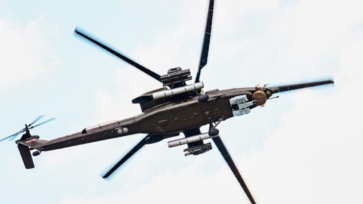 Ми-28 ушёл в положение «супер», не выйдя из положения «лёжа»