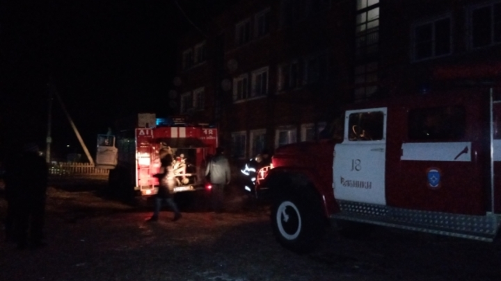 Пожарные спасли человека в Вязниковском районе