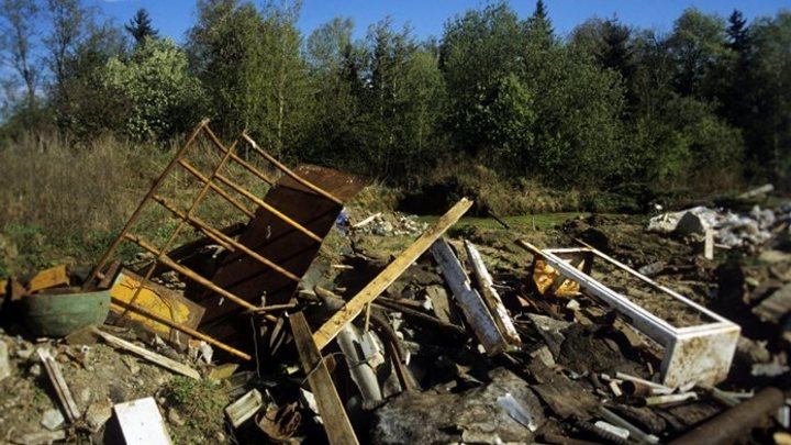 Кемеровчане жалуются на горящую свалку отходов в Заводском районе