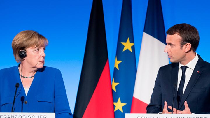Кто и зачем в Европе ополчился на Макрона и Меркель