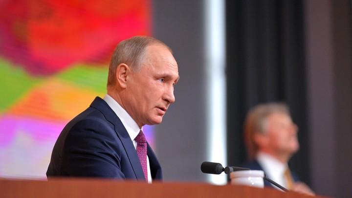 Путин анекдотом про кортик и часы ответил на вопрос о вооружении России