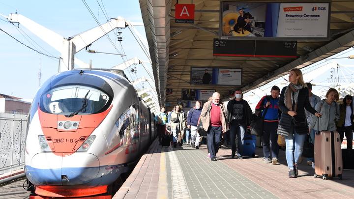 Из Петербурга в Москву доберемся за 2,5 часа. Собянин согласовал строительство новой железной дороги