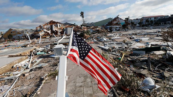 «Климатическое оружие Путина» уничтожило базу ВВС США во Флориде
