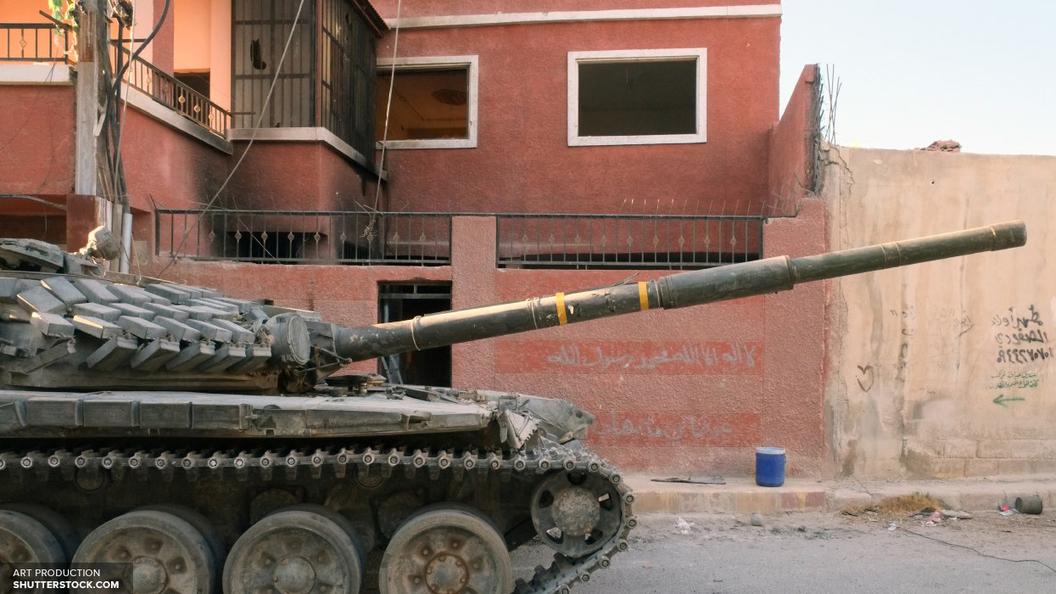 Пентагон признал право войск Асада войти в район Ат-Танфа