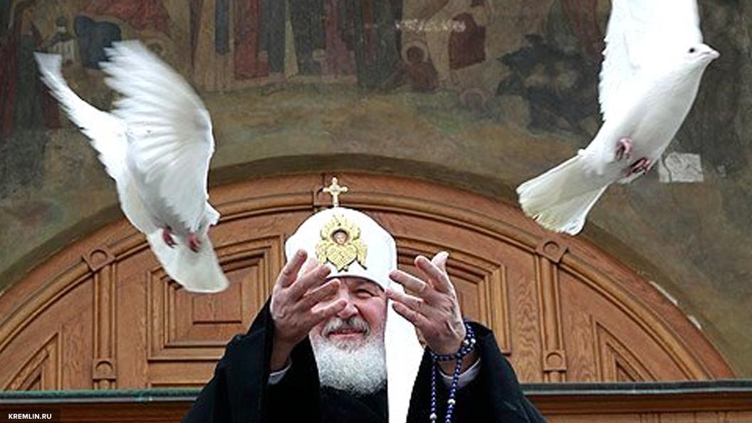 Патриарх Кирилл: Только через милосердие лежит дорога в Царствие Божие