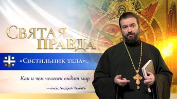 Светильник тела: Как и чем человек видит мир — отец Андрей Ткачёв