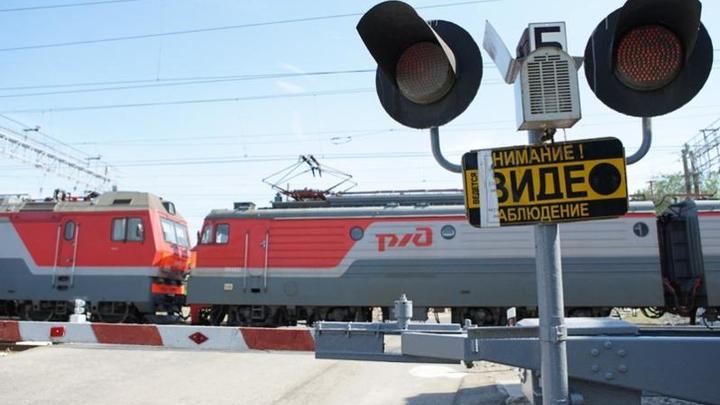 В Самарской области автомобиль столкнулся с поездом