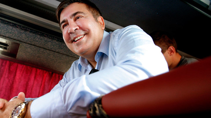 Саакашвили запустил процесс делегитимации режима Порошенко
