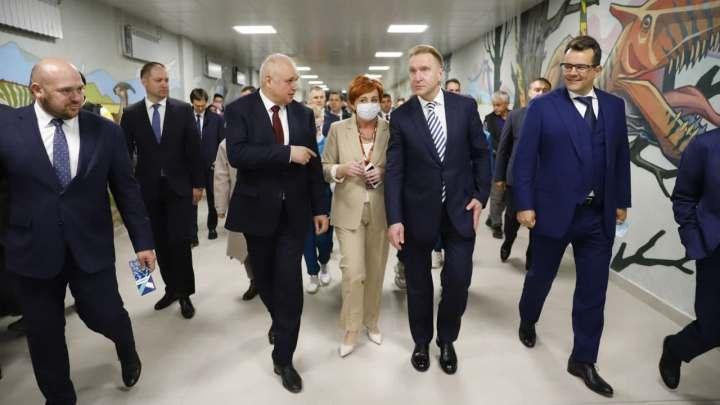 В Кемерове открыли ледовый дворец за 7,5 миллиарда рублей