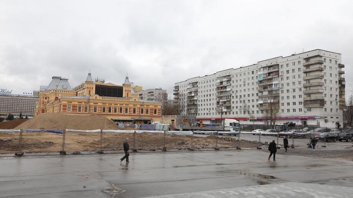 Анонсирована дата завершения благоустройства территории Нижегородской ярмарки