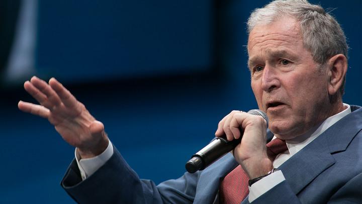 С больной головы на здоровую: Буш-младший обвинил Путина в попытке установить мировую гегемонию