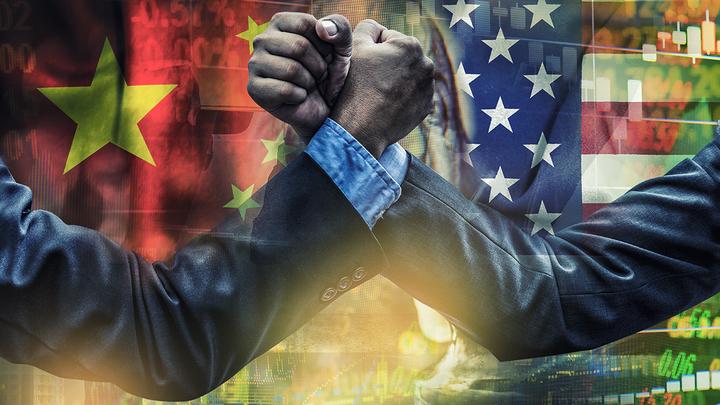 Китай вежливо улыбается под дулом американского пистолета