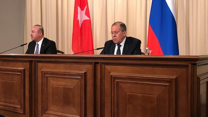 Лавров: Никто не сомневается, что США хотят развалить всю Сирию