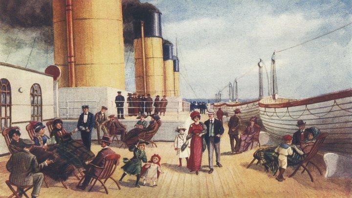 Письма, которые так и не доставили: Легендарный Титаник стремительно разрушается