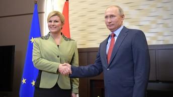 Путин поделился со студентами, о чем шли переговоры с лидером Хорватии