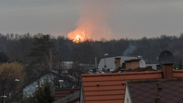 Италия перешла на газовые запасы из-за взрыва в Баумгартене