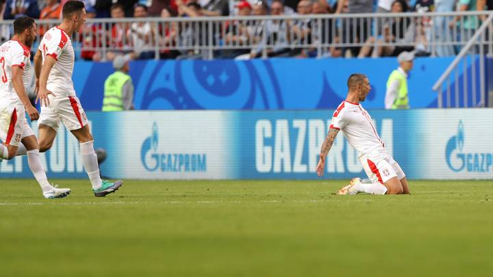 Александр Коларов – лучший футболист матча Сербия – Коста-Рика
