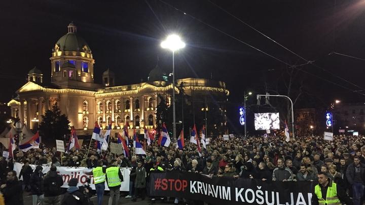 Почему сербы выступили против своего президента