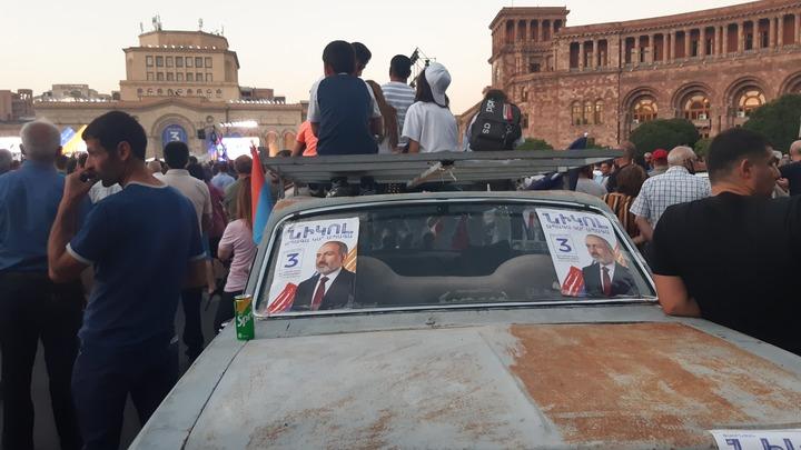 Пашинян рассказал о заговоре на митинге в Ереване