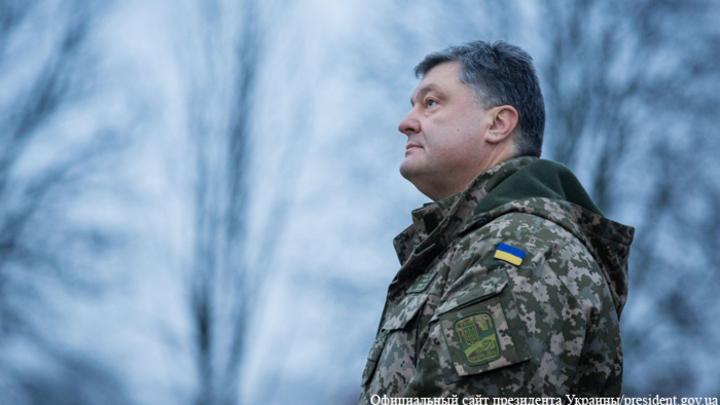 Порошенко обещал защитить Украину от сильнейшей на континенте армии России