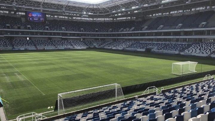 Ни в реку, ни в болото не сползёт, либералы врут. Сегодня первый матч принимает новый стадион Калининграда