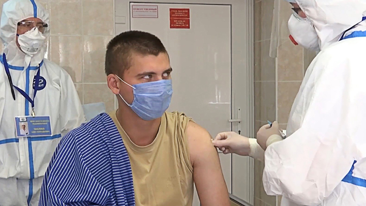 Испытание русской вакцины от СОVID-19: Первые слова добровольцев