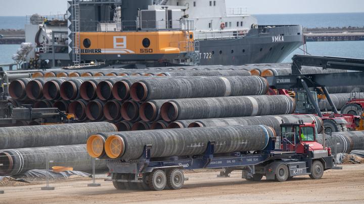 Захарова поставила точку в спорах о Северном потоке - 2: Последнюю трубу уже приварили