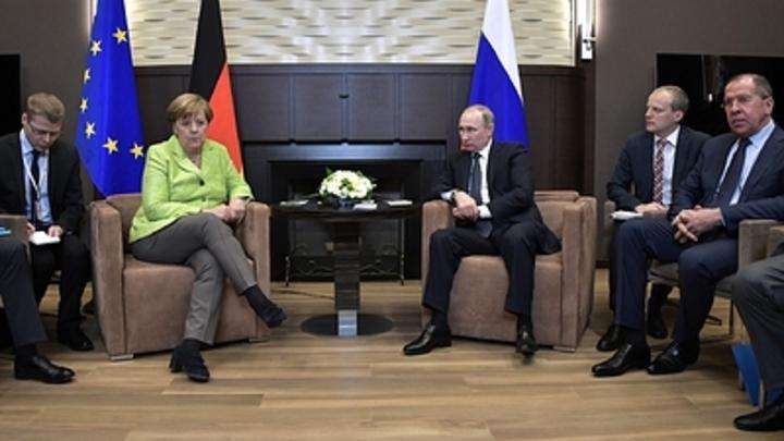 Эксперт объяснил, почему Меркель перевела стрелки с антироссийских санкций на Донбасс