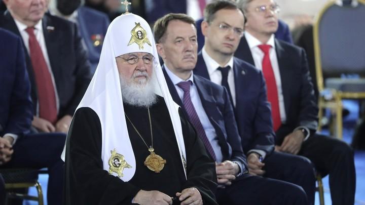 Патриарх Кирилл жёстко поставил вопрос современной власти