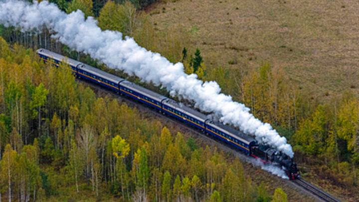 Дерзкий водитель в Кузбассе устроил железнодорожную пробку