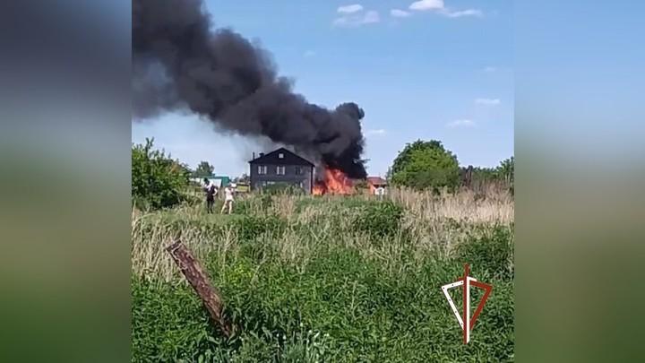 В Челябинской области на пожаре спасли семерых щенков