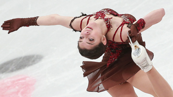 Гран-при Канады: Фигурные качели Евгении Медведевой