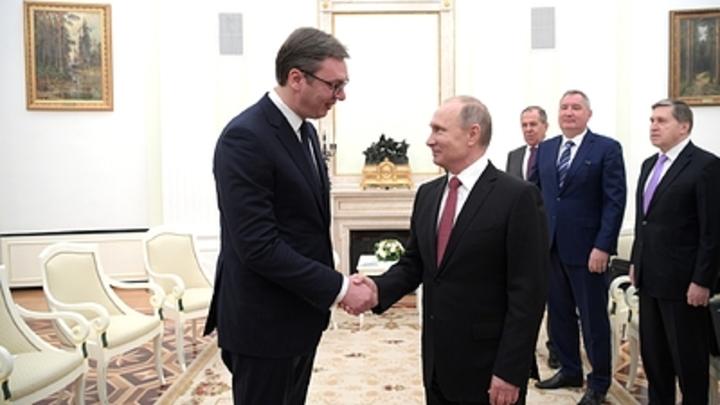 Вучич одним словом разбил мечты ЕС о вводе антироссийских санкций Сербией