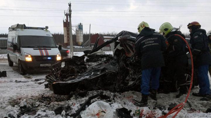 Стали известны подробности ДТП под Самарой: все погибшие из Курумоча