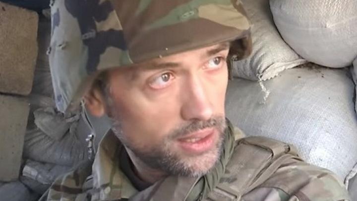 Актер Пашинин, убивающий вместе с Правым сектором, назвал себя нежным цветочком