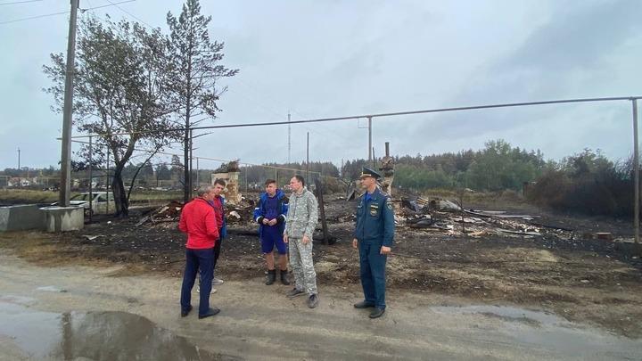 Текслер доложил Путину о начале строительства 19 новых домов вместо сгоревших от лесного пожара