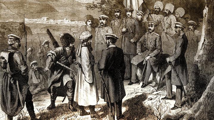 Один день в истории: Вся Чечня и Дагестан ныне покорились державе Российского Императора