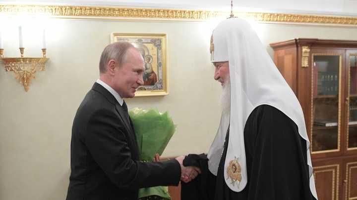 Святейший Патриарх Кирилл: за Конституцию русской мечты