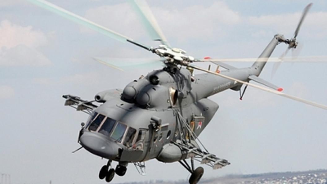 Ми-8 протаранил улицу в Хабаровске: Есть жертвы - видео
