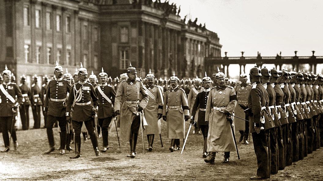 Подготовка германской агрессии против России