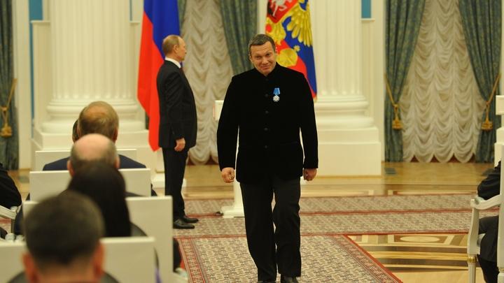 Это просто анекдотично: Соловьев о переговорах Путина с Зеленским и благодарности Киева