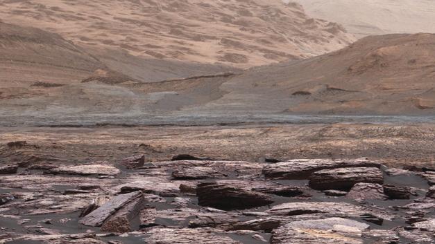 Curiosity «донюхался» до метана на Марсе