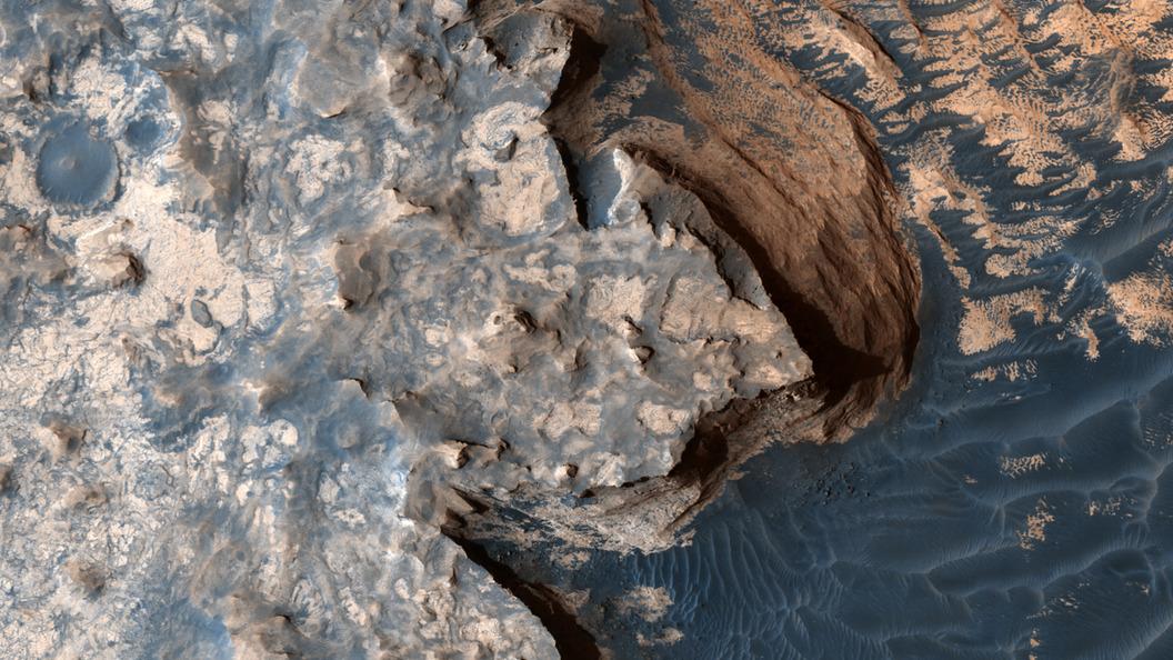 NASA: На Марсе могут существовать лишь простейшие организмы