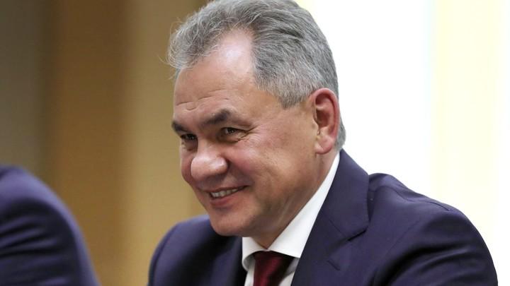 На выставке Русского географического общества Сергею Шойгу даровали новое имя